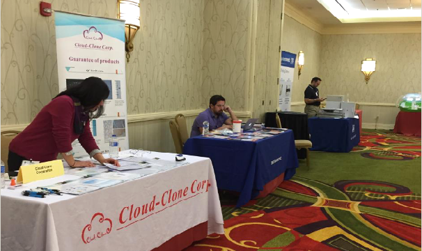 Cloud-Clone Corp. attended TMC Research Supplier Product Show 2016