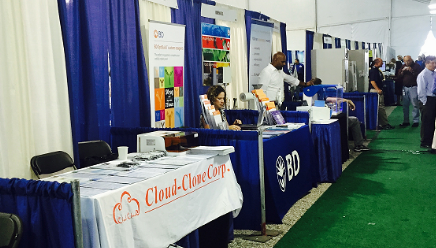 Cloud-Clone Corp. attended 2016 NIH NIH Research Festival Exhibit