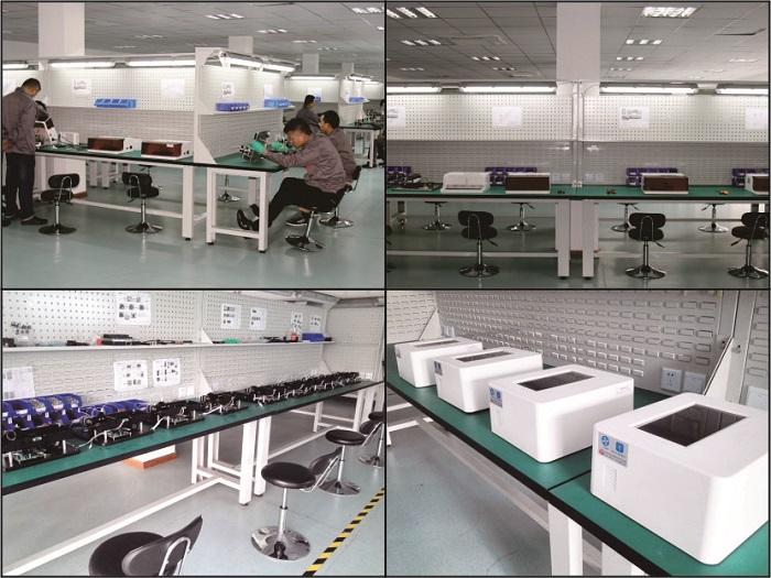 标准仪器生产线